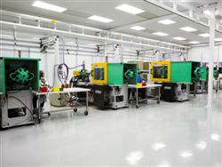 Class 10,000, ISO Class 7 Cleanroom For Medical Injection Molding